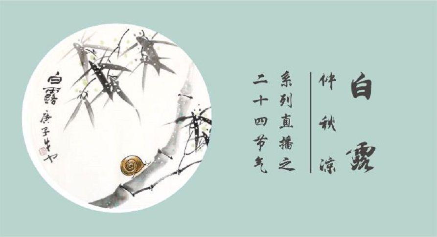 二十四节气系列直播《仲秋凉·白露》